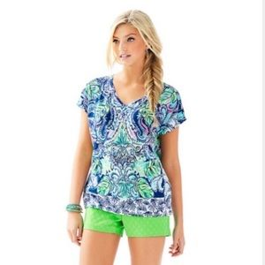 Lilly Pulitzer Hartwell Boxy Top S/M